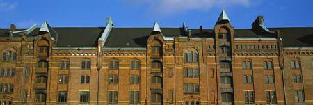 Speicherstadt Warehouse Hamburg Germany