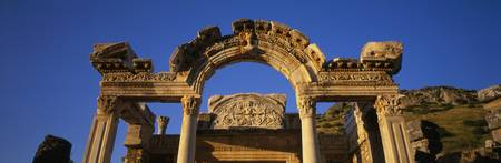 Hadrians Temple Ephesus Turkey