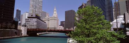 Wabash Ave Bridge ovr Chicago River Chicago IL