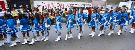 Girls performing in carnival Carupano Sucre State