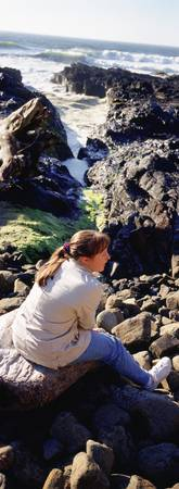 Young Girl Cape Perpetua OR