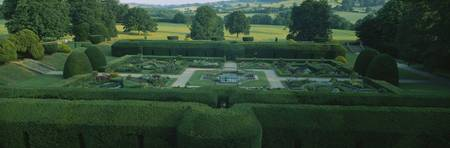 Formal Gardens Sudeley Castle England