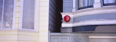 Fire alarm on a house
