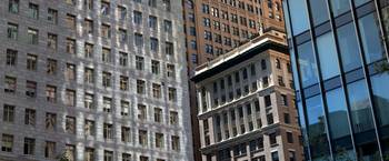 Low angle view of office buildings San Francisco