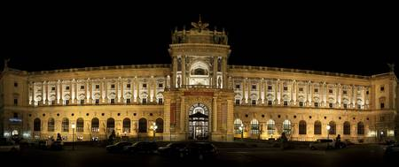 Facade of a palace The Hofburg Complex Vienna Aus