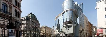 Buildings in a city Stephansplatz Vienna Austria