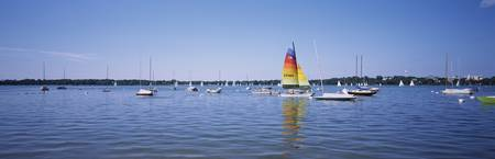 Minneapolis Aquatennial Sailing Regatta on Lake C