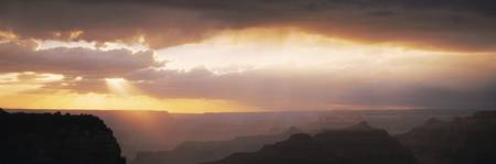 Sunset Grand Canyon National Park AZ