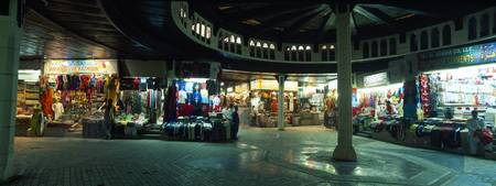 Street shops at night Muttrah Muscat Oman
