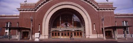 Facade of a railway station Tacoma Union Station