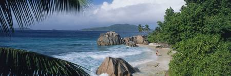 Indian Ocean La Digue Island Seychelles