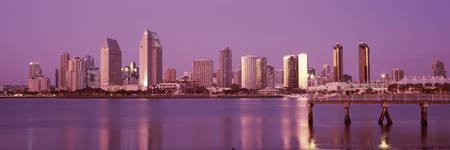 Buildings at the waterfront San Diego California