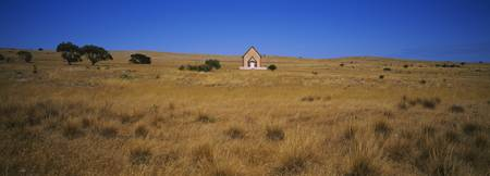 Church on a landscape