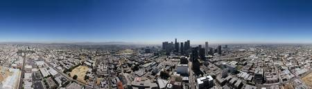 360 degree view of a city