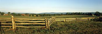 Fence in a farm Virginia