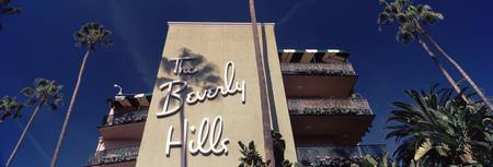 Low angle view of a hotel Beverly Hills Hotel Bev