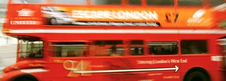 Double Decker Bus London England UK
