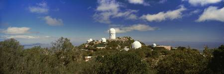 Observatory on a hill Kitt Peak National Observat