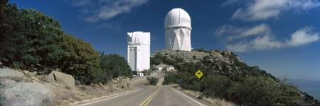 Road leading to observatory Kitt Peak National Ob