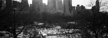 Wollman Rink Ice Skating Central Park New York NY