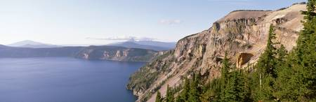 Redcloud Cliff Crater Lake National Park OR