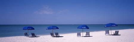 Beach Umbrellas Captiva Island FL