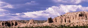 Rocks and Clouds at Camel Rock N of Santa Fe NM