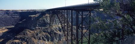 Snake River Bridge Twin Falls Idaho