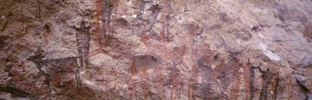 Pictograph on a rock