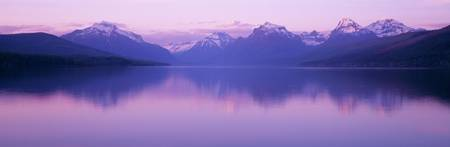 Sunrise Lake McDonald Glacier National Park MT