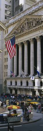 Facade of New York Stock Exchange