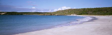 Red Beach on Caribbean Sea Isl of Vieques Puerto