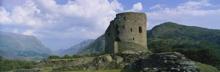 Old ruin of a castle