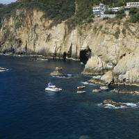 """Cliff Divers Acapulco Mexico"" by Panoramic_Images"