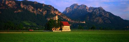 St Coloman Church Bavaria Germany