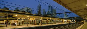 Railway Station Melbourne Australia