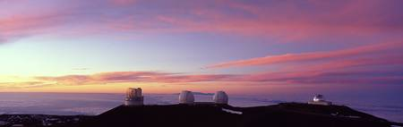 Observatories on a hill