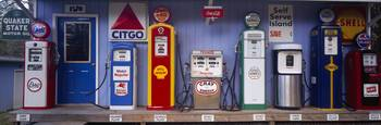 Antique Gas Pump Collection Littleton NH