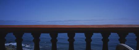 Balustrade at the sea side
