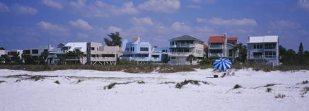 Houses near the beach