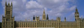Facade of Big Ben and The Houses of Parliament