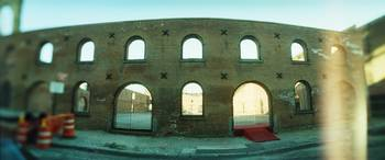 Low angle view of an old building DUMBO Brooklyn