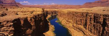 Colorado River and Marble Canyon Lees Ferry AZ