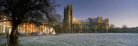 Church in a town Beverley Minster Beverley East Y