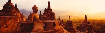 Borobudur Buddhist Temple Java Indonesia