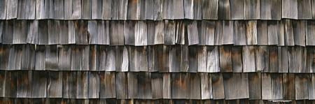 Close-up of wooden shingle