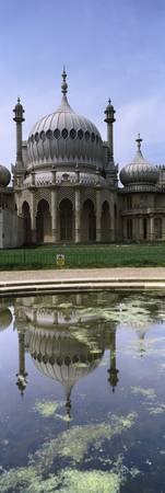 Reflection of a building in pond Royal Pavilion B