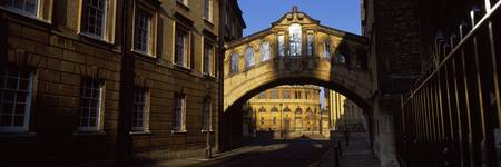Bridge across a street Hertford Bridge New Colleg