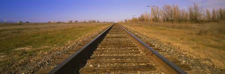 Railroad Tracks CA