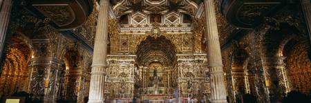 Church Interior Salvador Bahia Brazil